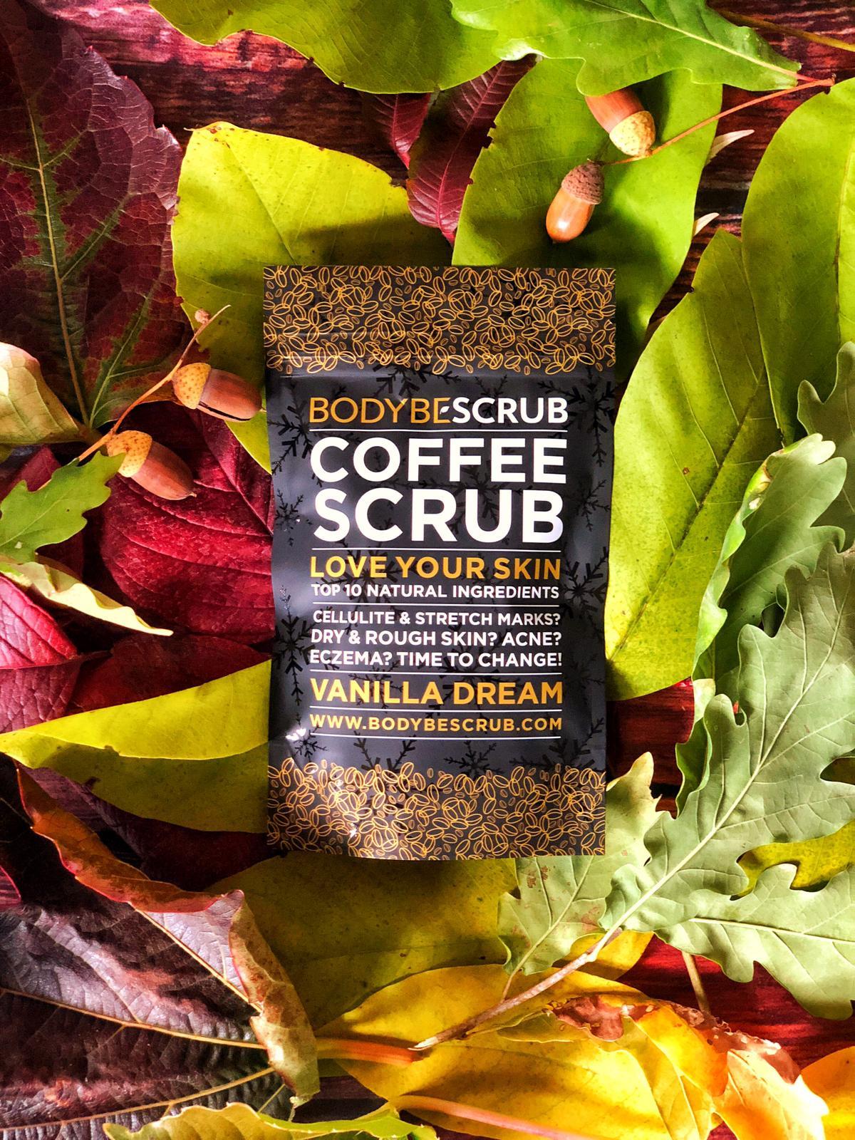 Kávový peeling proti celulitidě