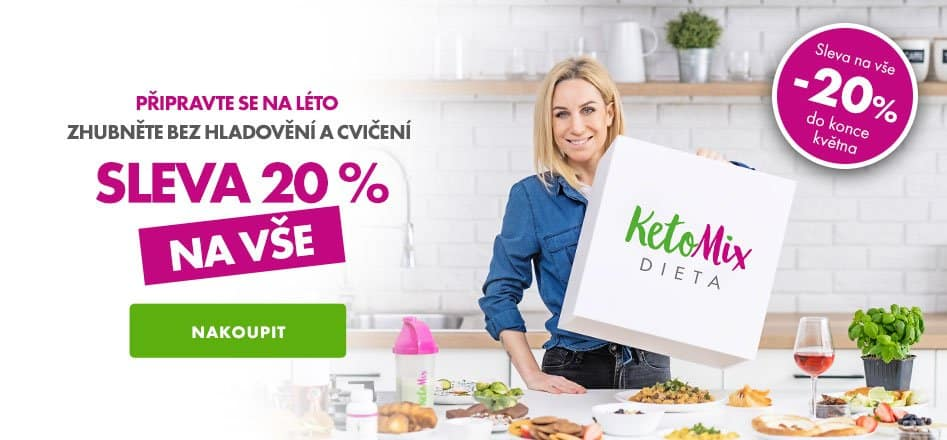 KETOMIX  SLEVA 20%
